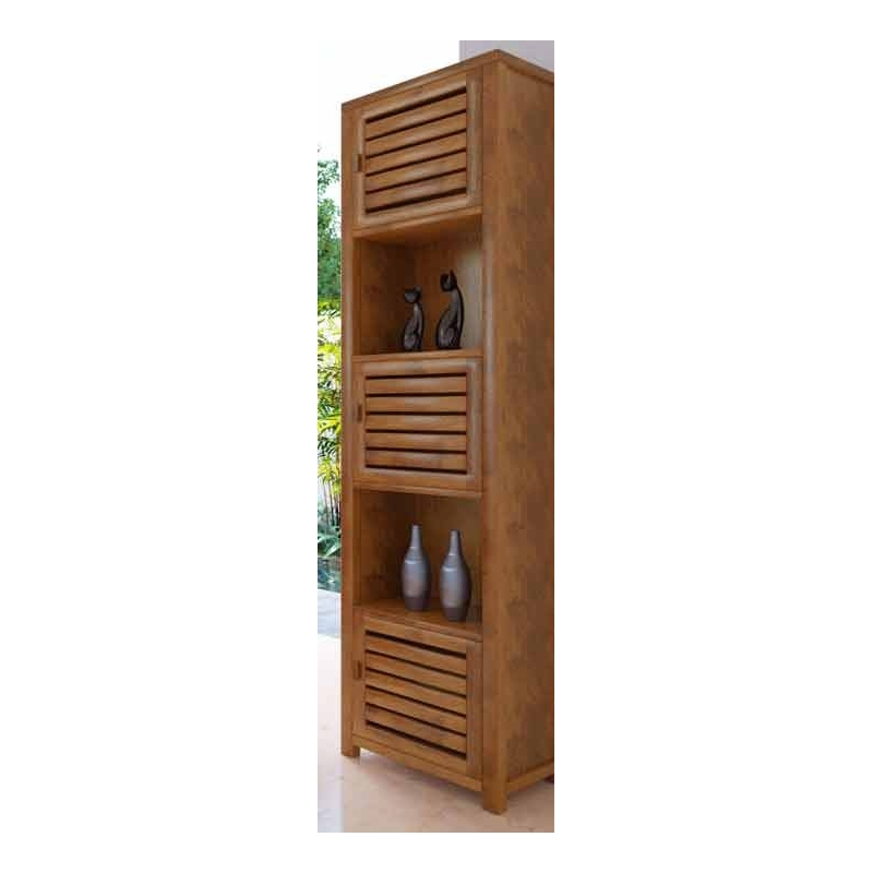 meuble salle de bain bois angle