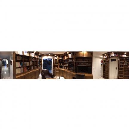 Aménagement rayonnages, bibliothèque
