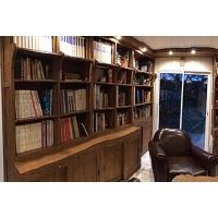 Aménagement rayonnement, bibliothèque
