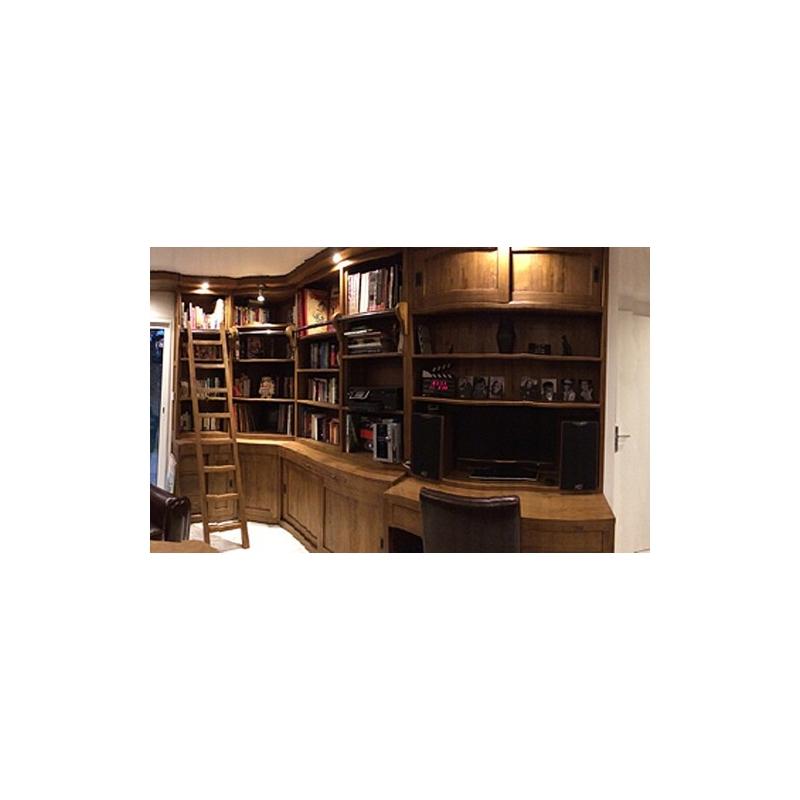 am nagement rayonnements biblioth que. Black Bedroom Furniture Sets. Home Design Ideas