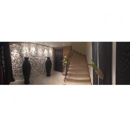 Mur sculpté intérieur