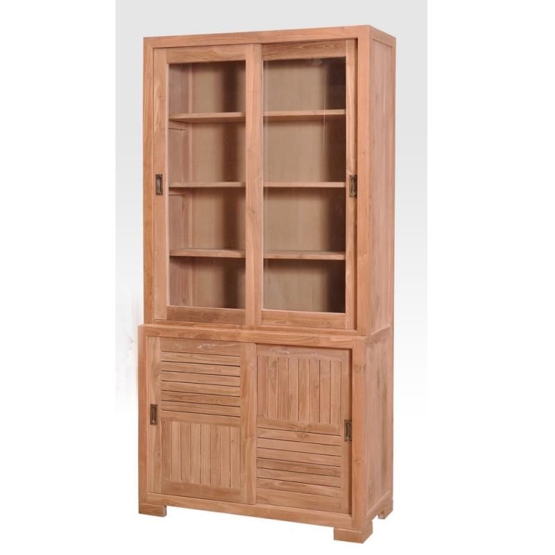 vaisselier teck selan. Black Bedroom Furniture Sets. Home Design Ideas