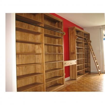 Aménagement de bibliothèque Dijon