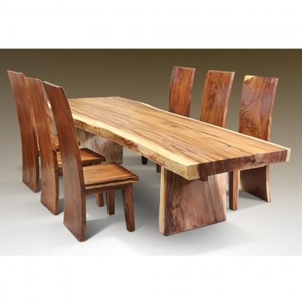 Table de salle à manger en suar wood Juli