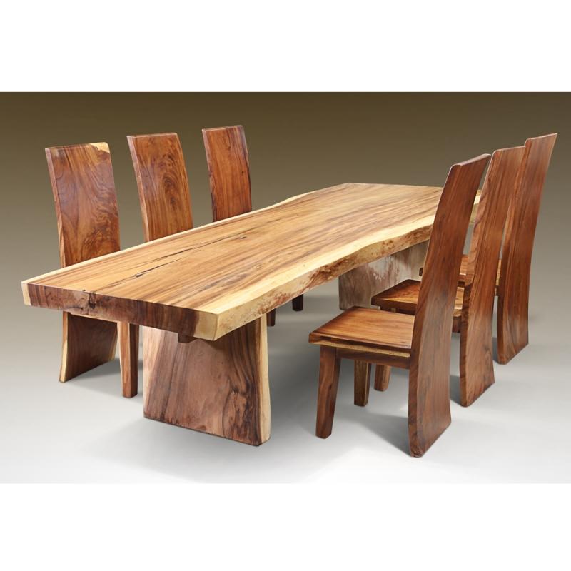 Table de salle manger suard wood juli for Table de salle a manger modulable
