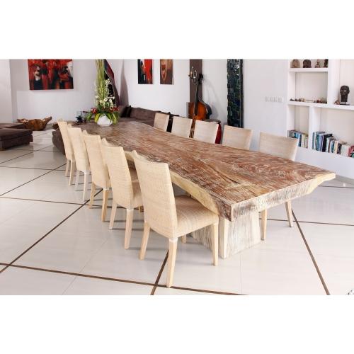 Table de salle à manger en suar wood Raha