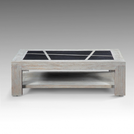 Table basse en teck Puket