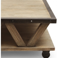 Table basse New York Industriel