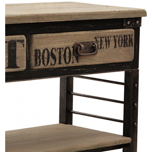 Console New York Industrie