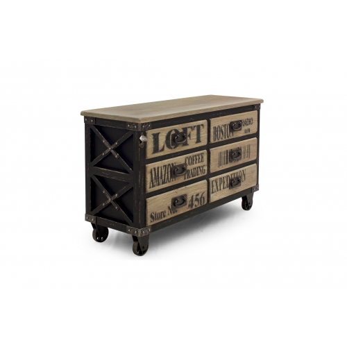 Commode New York Industrie 6T