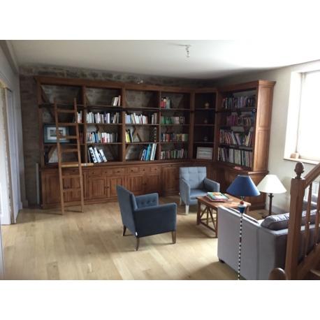 am nagement biblioth que. Black Bedroom Furniture Sets. Home Design Ideas