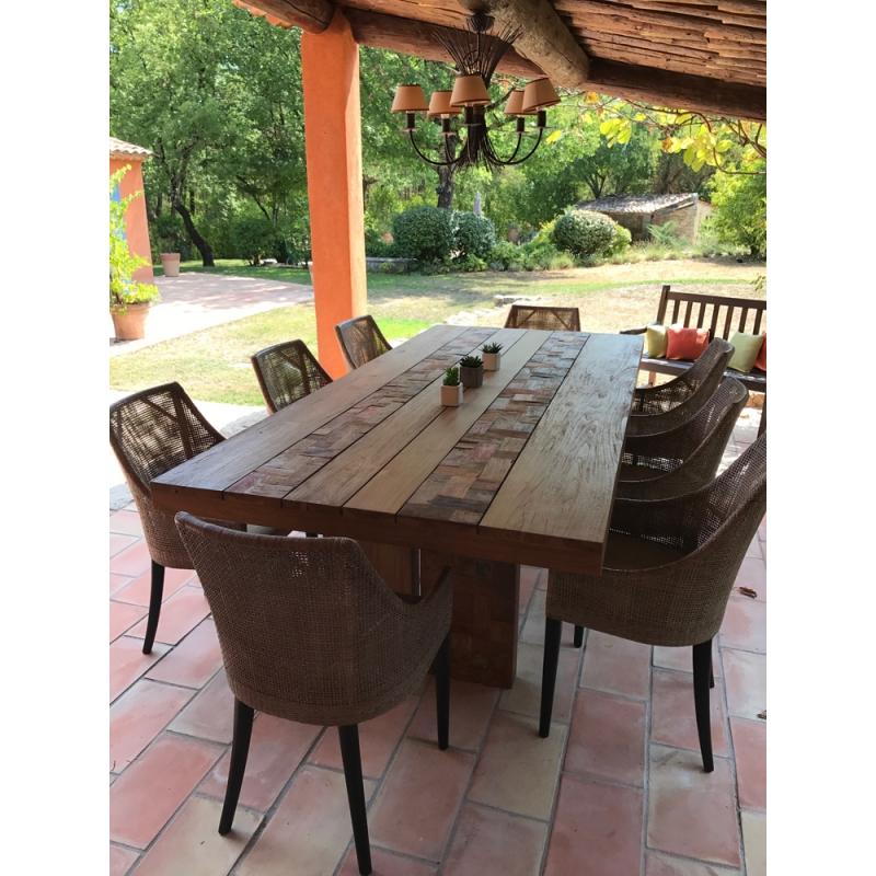 Salles à Manger: Table Salle à Manger En Terrasse