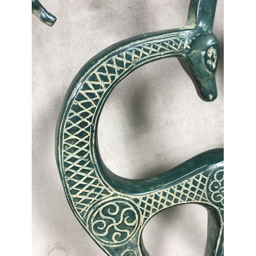 Statues Oryx en bronze