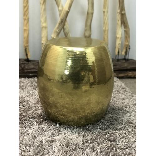 Pouf Dubaï cuivre gold