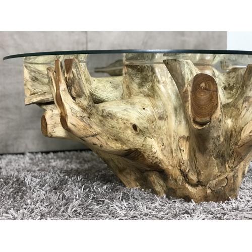 Table basse racine naturelle