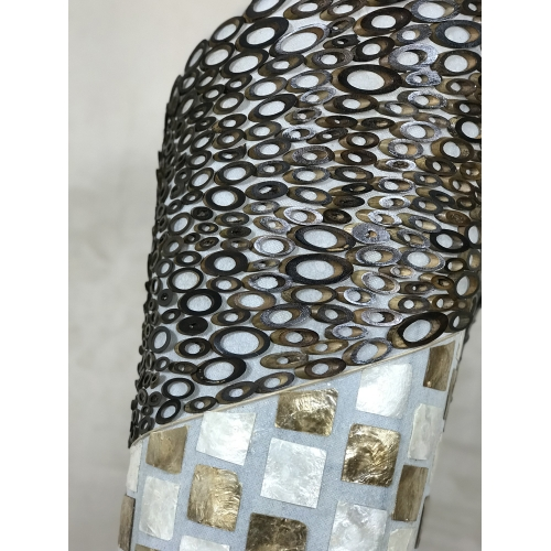 Lampe nacre tourbillon H150