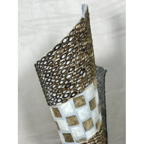 Lampe nacre tourbillon H100