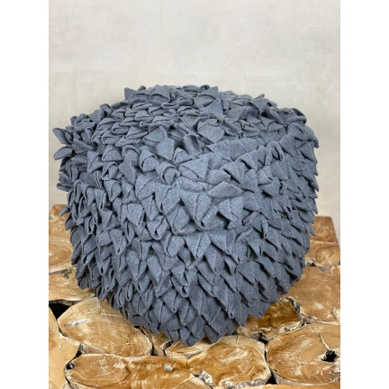 Pouf Grey Paris