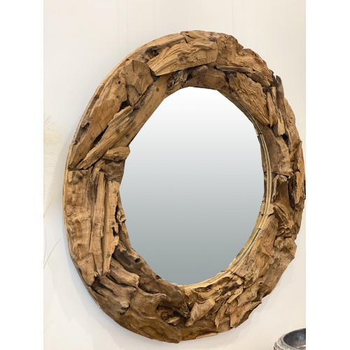 Miroir Naturalia en Bois...