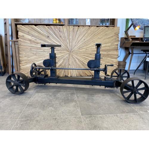 Pied Chariot Industriel Fixe