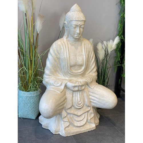 Buddha Cérusé Blanc
