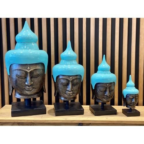 Buddha Head Turquoise