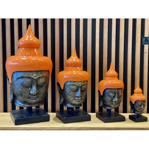 Buddha Head Orange