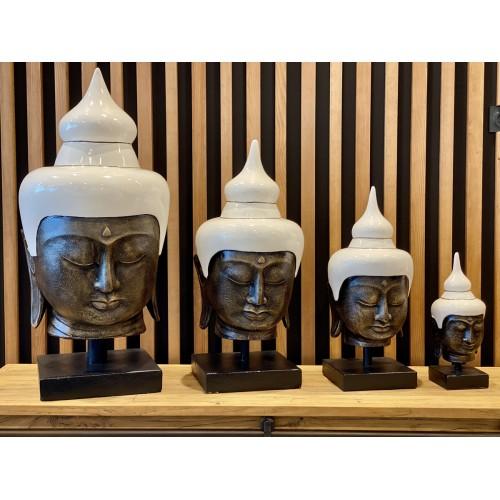 Buddha Head Blanc