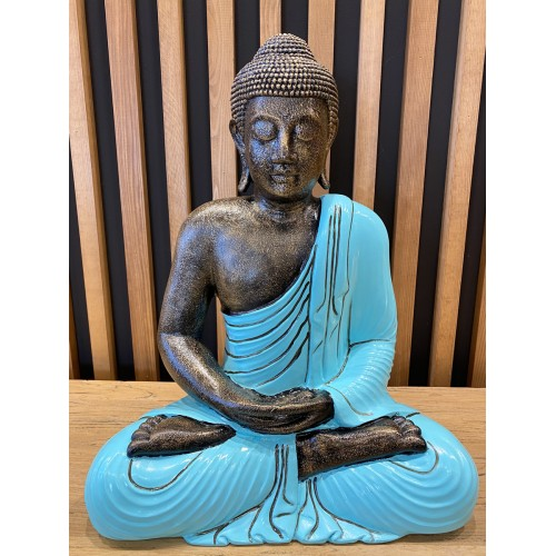 Seating Buddha Turquoise