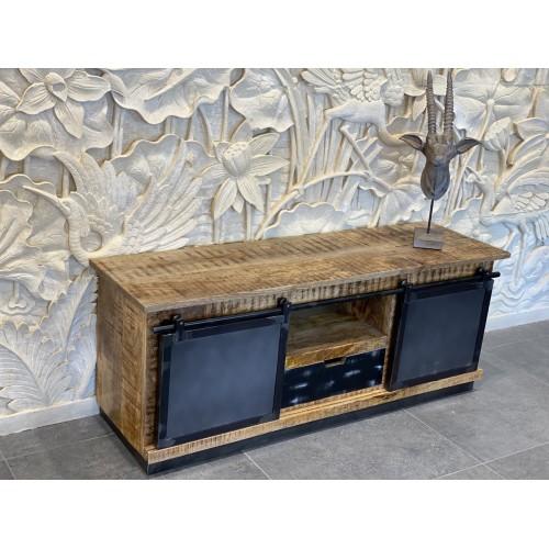 Meuble Tv Soho 2 Portes métal