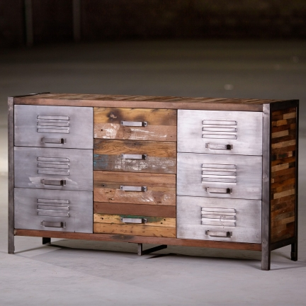 Commode Industriel 9 tiroirs
