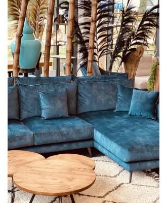 Canapé d'angle fixe