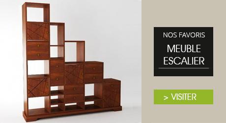 Meubles teck exotiques ambiance du monde ambiance du monde - Meuble escalier bois exotique ...